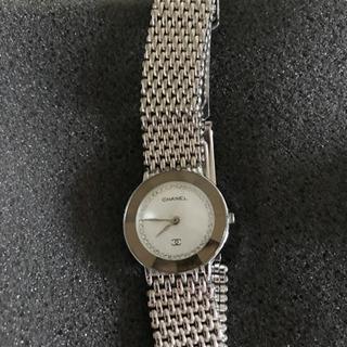 【受付終了】シャネル CHANEL 腕時計 多面カット