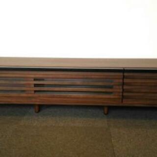 美品 150cm テレビボード.リビングボード.ローボード木製.収納