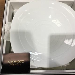 ミキモト   白のお皿