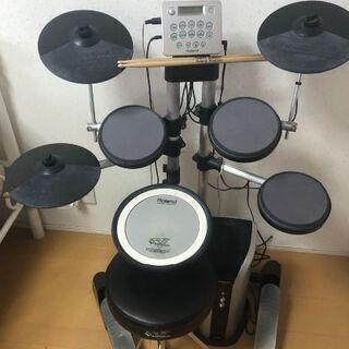 ローランド 電子ドラムセット 専用モニタースピーカー 椅子