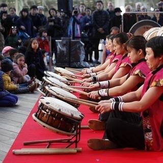 楽しく和太鼓をやりましょう。メンバー募集 水曜日の夜 土曜日の午...