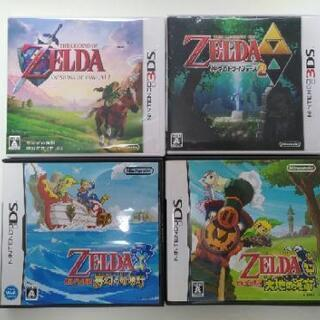 DS, 3DSゲーム ゼルダの伝説シリーズ