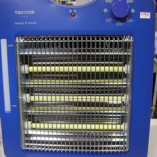 2016年製 TEKNOS  スチーム加湿機能付き 遠赤外線ヒー...