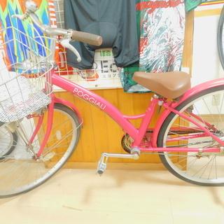 【エコプラス小倉南店】子供用自転車 ピンク 24インチ 中古車 ...