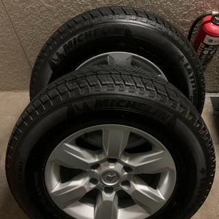 150プラド 純正ホイール付タイヤ4本セット