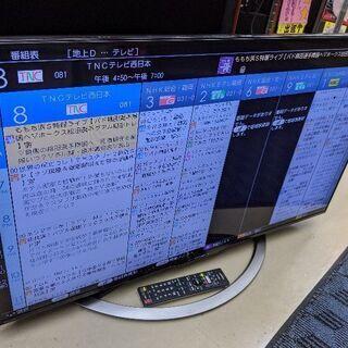 0115-04 2017年式 4K対応 40型 液晶テレビ AQ...