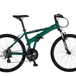 DAHON 折り畳み自転車 Espresso D24 グリーン ...