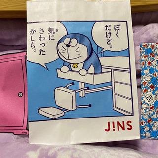 JINS ドラえもんメガネケース!