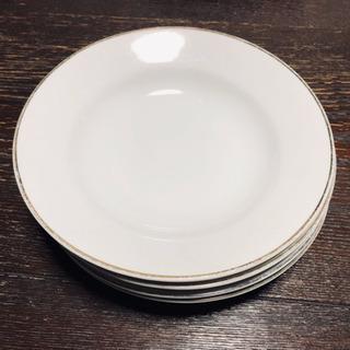 白の洋皿5枚セット