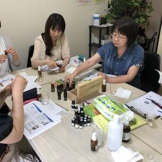 セラピストが教えるアロマ体験会in長町
