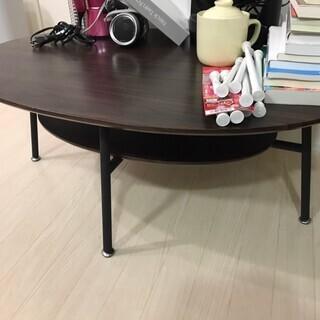 格安家具☆ローテーブル 東京インテリア ウッド 美品 定価約20...