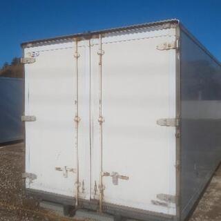 保冷コンテナ ロング 内寸6mオーバー 車庫やバイクガレージ 物...