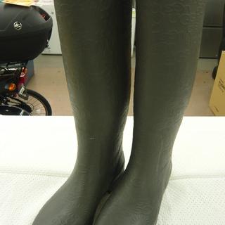 UGG レインブーツ 23㎝ グレー アグ ブーツ 札幌 西岡店