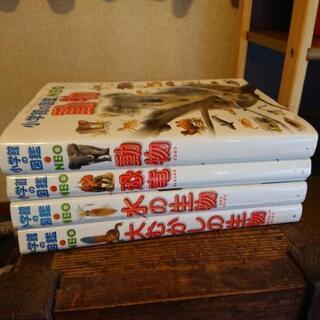 小学生用図鑑4冊
