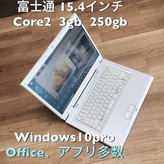 ⬛️富士通BIBLO 15.4インチ/Core2/メモリ3GB/...