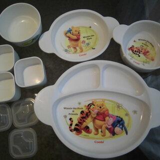 赤ちゃん 離乳食(食事)の便利グッズ③ コンビ 食器セット…