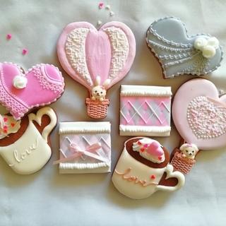 【2月1Day レッスン】 ほっこりラブリーなバレンタインアイシ...