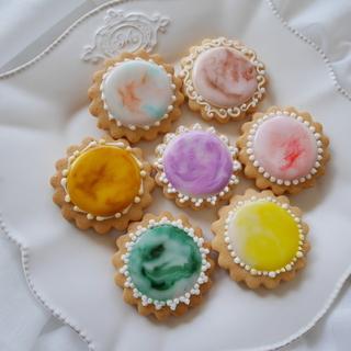 さっぱり味と透明感が特徴のグレーズアイシングクッキー♡
