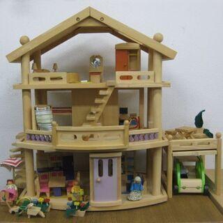 Battat 木製ドールハウス WOODEN DOLL HOUS...