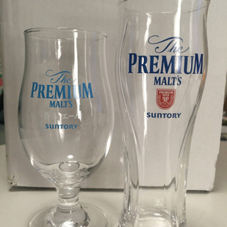 ※取引相手調整中※SUNTORYプレミアムモルツのビールグラス