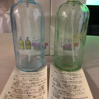 ラビリテ ガラスのプッシュボトル