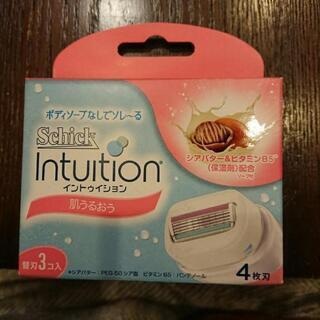 Schick Intuition 替刃3個入り