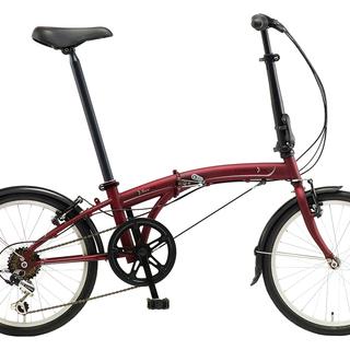 DAHON 折り畳み自転車 SUV-D6 ワイン 新品です。