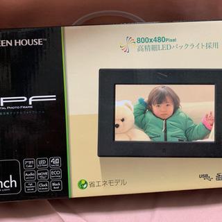 新品未使用☆デジタルフォトプレーヤー