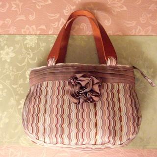 畳縁和のバッグ