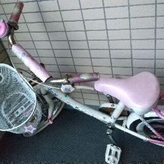 無料で子供用自転車 差し上げます 1月末まで
