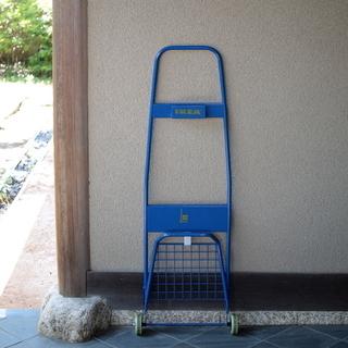 IKEA FRAKTA フラクタ トロリー ブルー リアカー 荷...