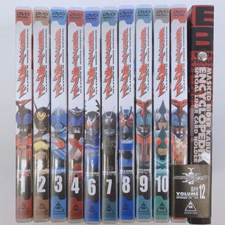 仮面ライダーカブト DVDセット