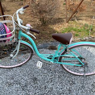 ジュニア自転車あげますー