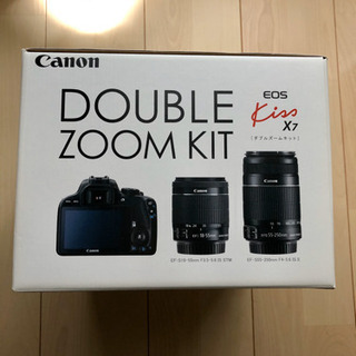 Cannon double zoom kit eos kissx7