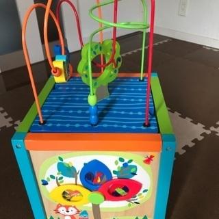【知育玩具★お値下げ!】 トイザらス 木製アクティビティ BOX