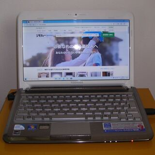 東芝モバイルノート N510/04 (U5600/4G/250GB)