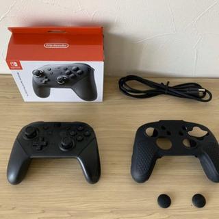 Nintendo Switch Proコントローラー シリコンカ...