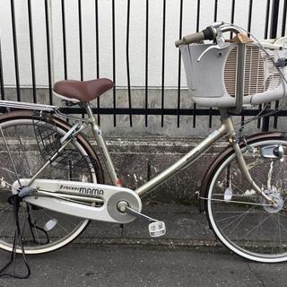 ★ 26インチ・子供乗せ自転車・内装3段変速・ブラウン