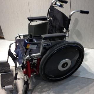 ■Z658■NICK 電動車椅子 バッテリー2個付属 充電器 車...