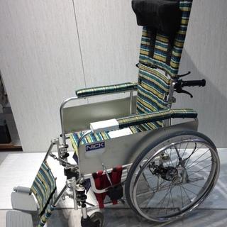 ■Z657■NICK 車椅子 リクライニング チェック 車イス ...