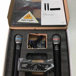 ワイヤレスマイク 2本セット ベリンガー  2.4GHz