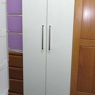 jt0102 ワードローブ ホワイト クローゼット 衣類収納 白...