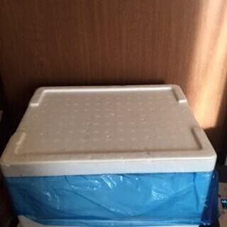 冷蔵保冷に 発泡スチロール箱と保冷剤セット