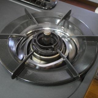 Rinnai リンナイ グリル付ガステーブル 都市ガス 12A 13A ガスコンロ 2009年製 - 生活雑貨