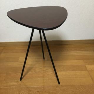 茶色 サイドテーブル