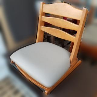 【自社配送は札幌市内限定】回転座椅子 座椅子 木製 旅館座椅子 ...