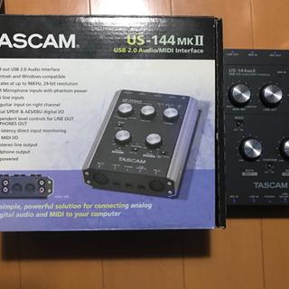 TASCAM US-144mk2 オーディオインターフェース
