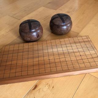 囲碁セット(二つ折り碁盤)