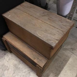 古い木箱 まとめて 2個