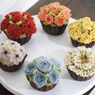 1/25 韓国餅ケーキ/餡フラワーケーキ作り体験🌹🌹
